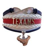 Houston Texans Football Texan Bull Fan Shop Infinity Bracelet Jewelry - $9.99
