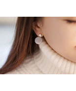 Front and Back Cubic and Yarn pom pom Ear Jackets, Pom Pom ear jacket,  - $13.00