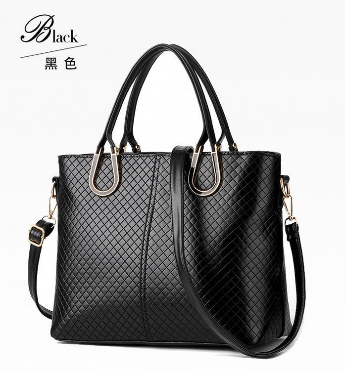 Free Shipping Women Leather Shoulder Bags Large Leather Handbags Mixed N141-9