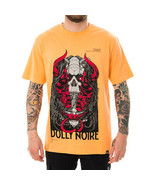 T-SHIRT UOMO DOLLY NOIRE NI MASK TS338  Arancione - $42.19