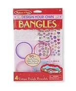Melissa & Doug Design-Your-Own Bangles Bracelet-Making Set  Fast Free Sh... - $8.68
