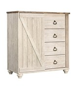 Ashley Willowton Dressing Chest In White - $920.19