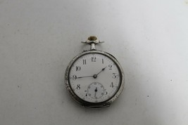 Antique Vintage Old Swiss Made  Pocket Watch. - $195.13