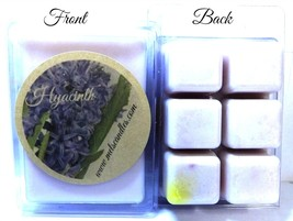 Hyacinth 3.2 Ounce Pack of Soy Wax Tarts (6 Cubes Per Pack) - Scent Brick - $3.49