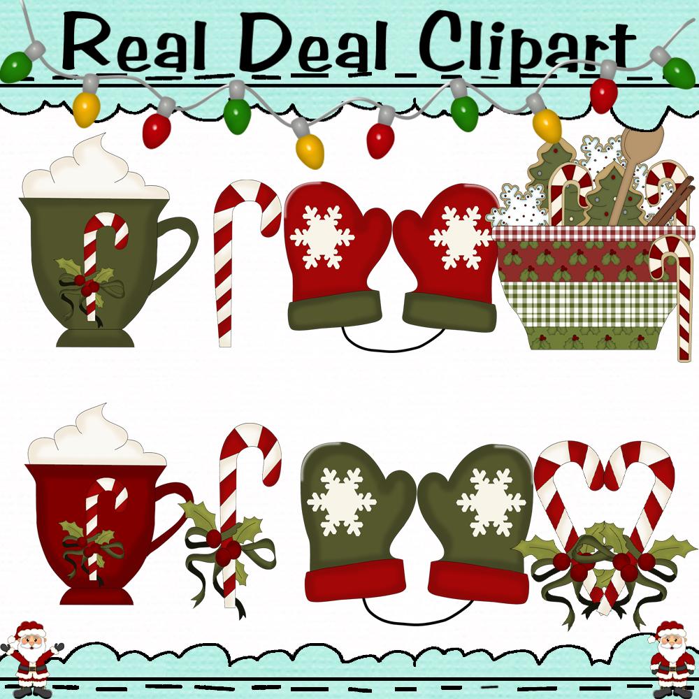Christmas Decor And More Clipart Digital Art