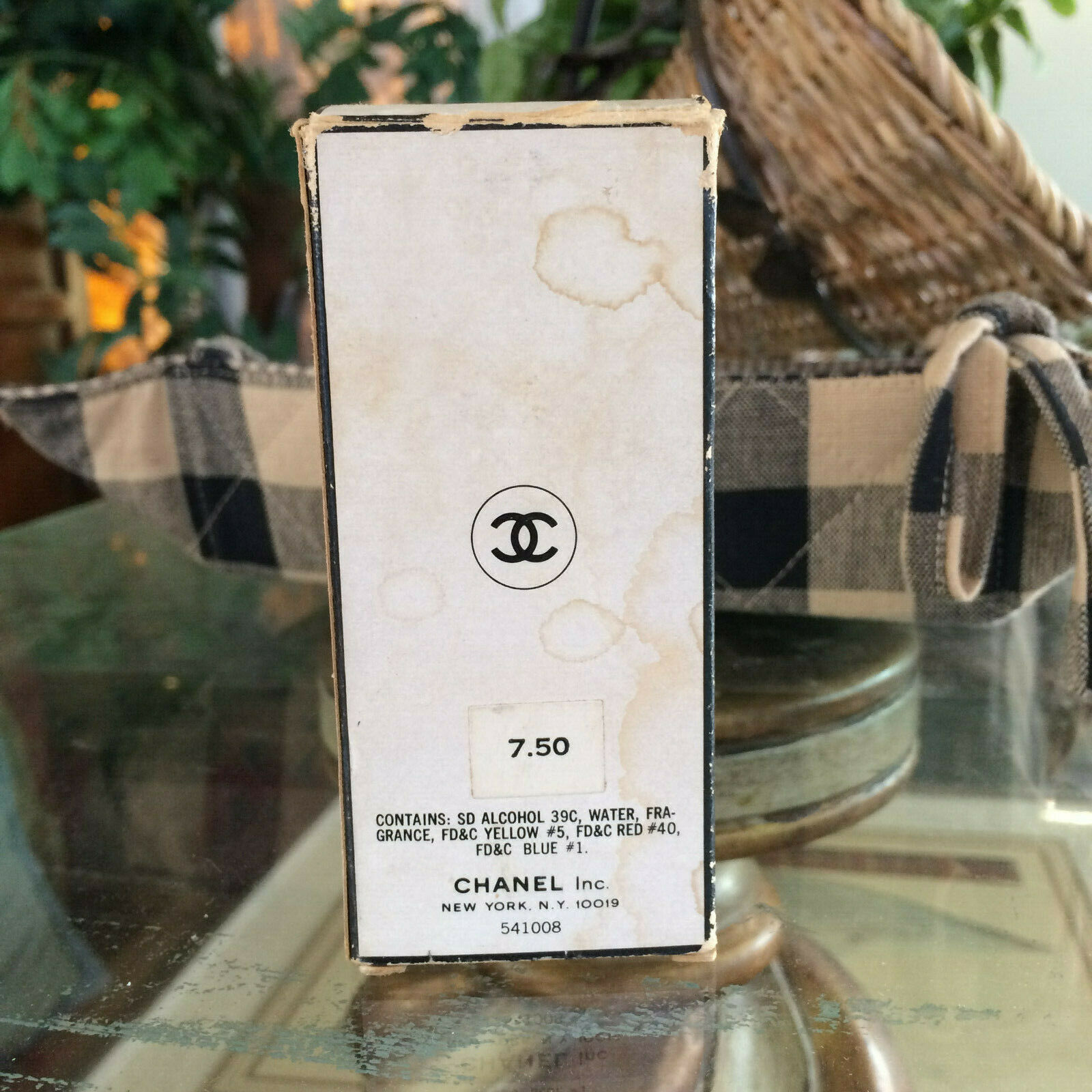 Vintage mid-century!! CHANEL No 5 Perfume 2 oz - OLD FORMULA FRANCE New NIP image 6