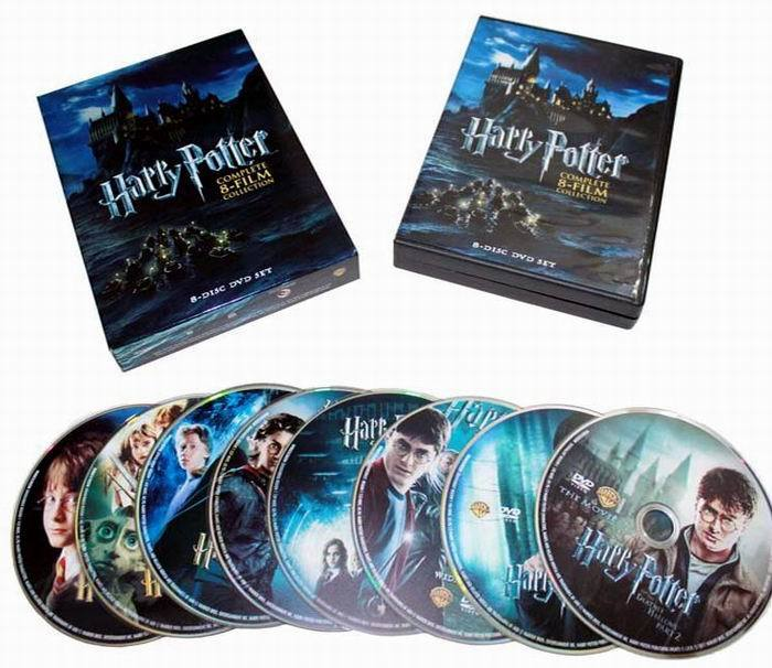 Harry Potter Complete 8-Film Collection 8 DVD Box Set Free shipping Brand New