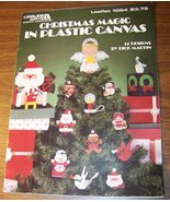 Christmas Magic in Plastic Canvas Leaflet 1054 ... - $3.75