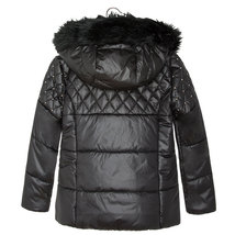 Mayoral Big Girl Tween Studded Puffer Coat With Removable Hood image 2