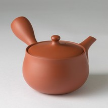 JINSUI - Hanagata - Kiwami Syudei kyusu teapot 370 cc w handcrafted cera... - $61.70