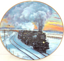 Train Collector Plate Sherman Hill Challenger Railways Hamilton Collecti... - $59.95
