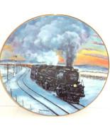 Train Collector Plate Sherman Hill Challenger Railways Hamilton Collecti... - $59.95