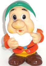 "Walt Disney Productions Sneezy Dwarf Squeaky Giant 8"" Toy Snow White Vin... - $49.95"