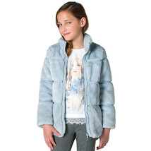 Mayoral Big Girl Tween 8-18 Tier Faux Fur Jacket