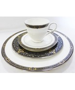 LENOX dinner serving china 4 piece place setting missing tea saucer new ... - $79.20