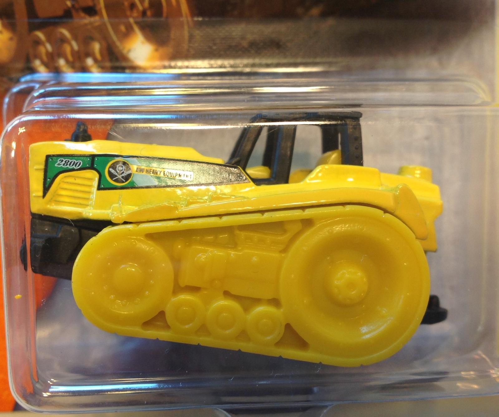 Matchbox Seed Shaker Mbx Construction 2016 Mattel Yellow