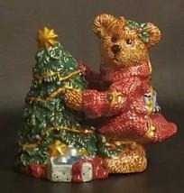 "Vintage Bearware Pottery ""Elliot & the Tree"" Shaker Set *NIB* - $6.93"