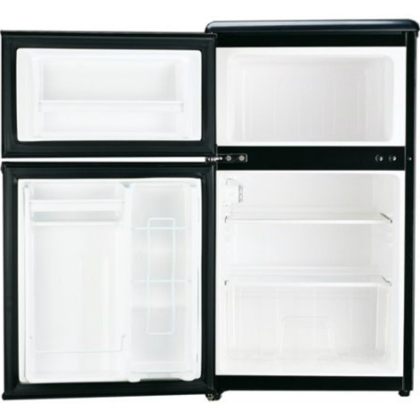 Mini Fridge With Freezer For Bedroom Office Stainless