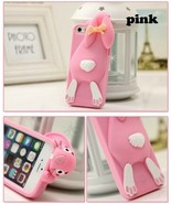 3D Cute Sprout Rabbit Soft Silicon Case for For iphone 4 4S 5 5S 5C Fashion   - $8.99