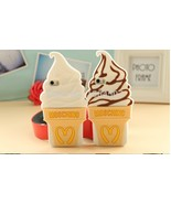 1pcs New Lovely Popular Ice Cream Soft Silicone Case Cover for iPhone 4 4S 5 5S - $7.50