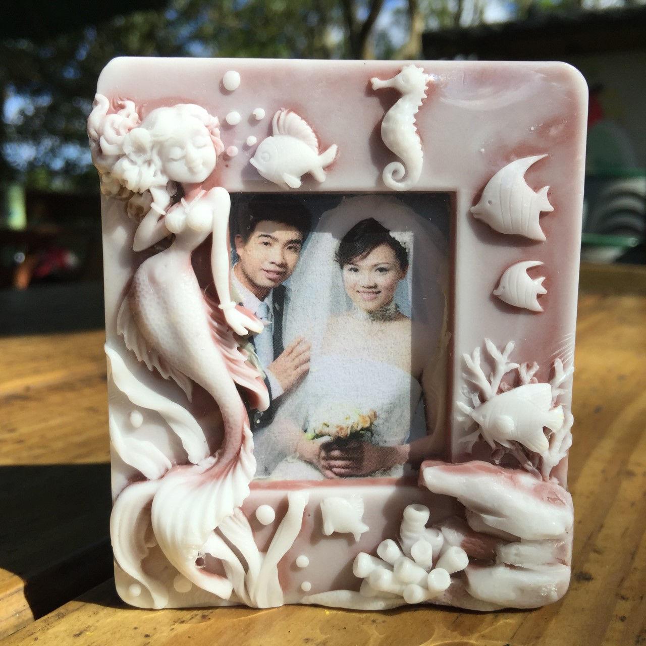 Mermaid Photo Frame - 2d handmade custom soap - $11.88