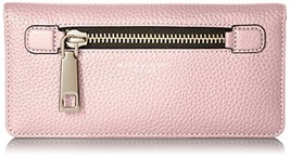 Womens Accessorie Wallet Marc Jacobs Gotham Open Face Pink Fleur One Size - $202.38