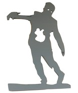 Stumbling Zombie Foam Silhouette Halloween Prop Unfinished - $79.19