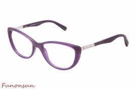 Dolce & Gabbana Women's Eyeglasses D&G 3155 2701 Matte Purple Cat Eye Frame - $115.43