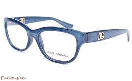 Dolce & Gabbana Women's Eyeglasses D&G 5011 2868 Crystal Blue Rectangle ... - $115.43