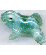 Green Fluorite Frog Carving - $8.27