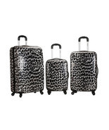 Rockland Luggage Set 3PC Spinner Suitcase Hardc... - $179.99