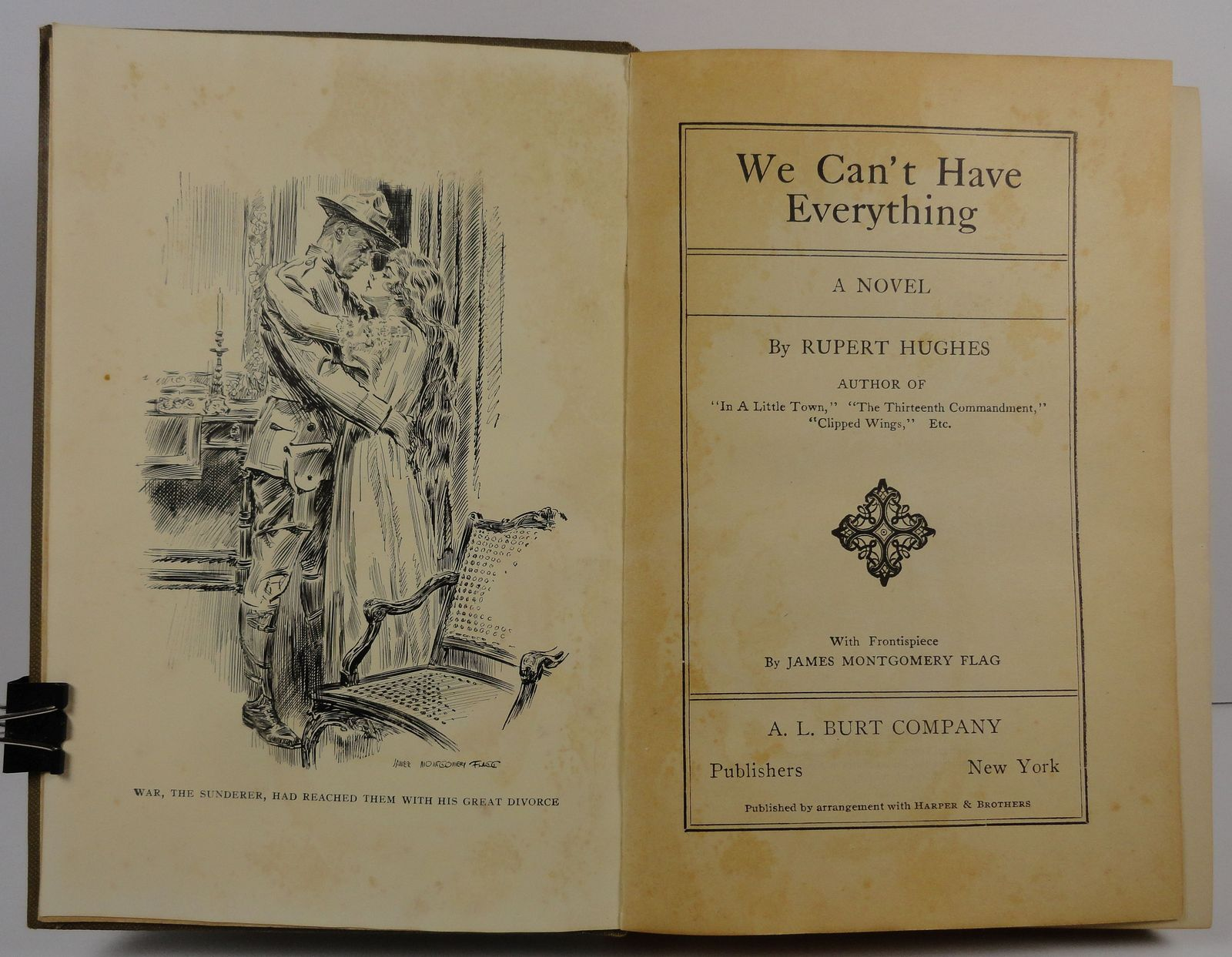 We Can't Have Everything by Rupert Hughes 1917