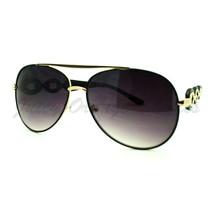 Womens Aviator Sunglasses With Unique Chain Design Temple - $8.86+