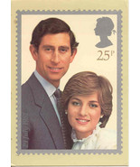 Prince Charles and Diana vintage 1981 Post Card - $10.00
