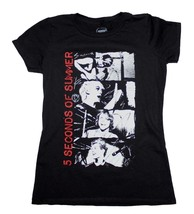 5 Seconds of Summer Stacked Photo Junior's T-Shirt - $22.00