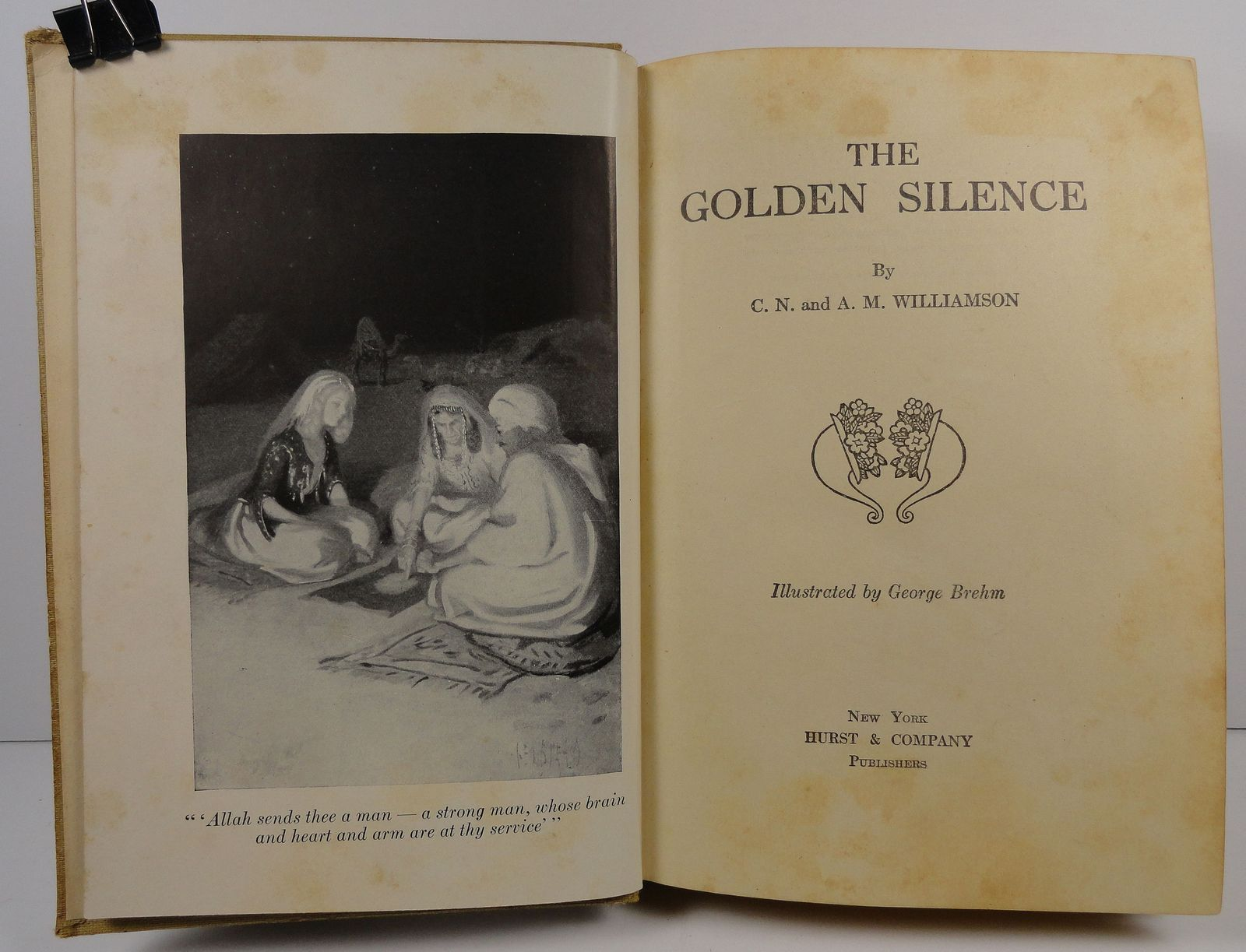 The Golden Silence by C. N. and A. M. Williamson 1910