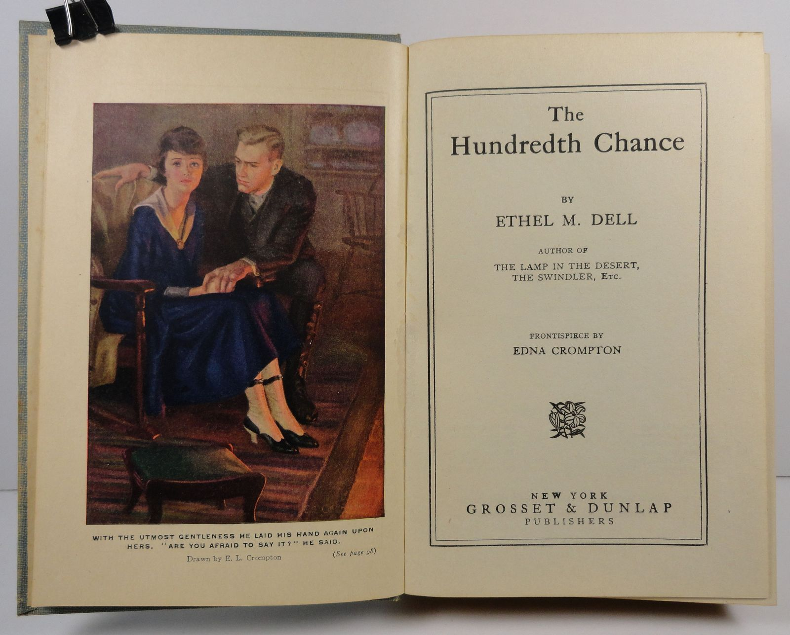 The Hundredth Chance by Ethel M. Dell