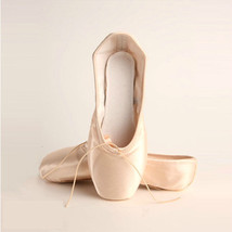 New Women's Girls Professional Satin Ballet Pointe Shoes Adult Kids - $18.99