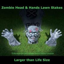 Life Size Body Parts ZOMBIE GROUND BREAKER Yard Halloween Horror Prop De... - $18.78
