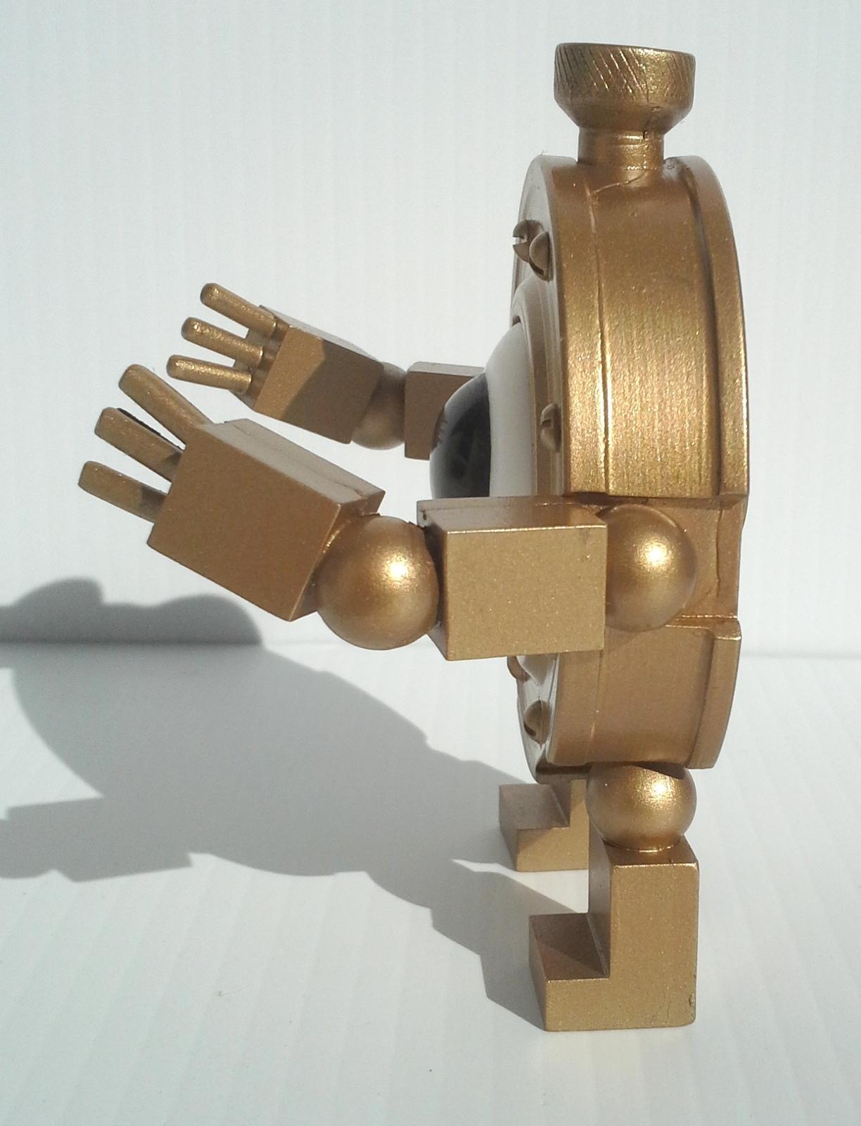 "Licensed Handmade Girl Genius Little Clank life-size resin figure, 4"" tall!"