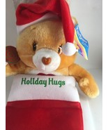 2005 Care Bears Plush Christmas Stocking Holiday Hugs Tenderheart Bear NWT - $28.95