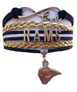 Los Angeles Rams Football Fan Shop Infinity Bracelet Jewelry - $9.99