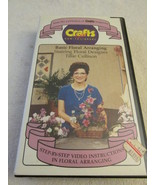 Crafts Video How To Library Basic Flower Arrang... - $7.99