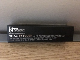 IT Cosmetics Vitality Flush Color Reviver Stain Retail $29.00 ROSE FLUSH - $18.54