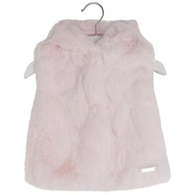 Mayoral Baby Girls 3M-24M Hooded Faux Fur Vest Jacket