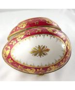 Le Tallec Paris Tiffany Limoges Box Egg - Marin Gold Relief on Purple - ... - $199.00