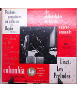 """Vintage 10"""" Classical Vinyl LP, The Philadelphia Orchestra, Play-Rated V... - $3.95"""