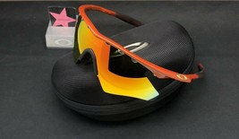 Oakley M-Frame Caramel w/ Fire Iridium Heater Authentic Rare Custom Made In USA - $399.99