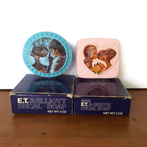 Avon ET Soaps Decal Blue Pink Elliot Gertie Kiss 1984 NOS NIP Box Unused... - $14.80