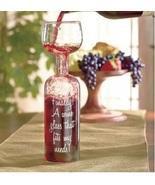 Novelty Wine Glass Fun Festive Wine Glass Wine Lover Gift Gag Gift - $12.88
